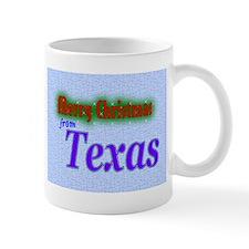 Texas Christmas Mug
