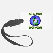bookworm.png Luggage Tag