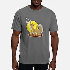 wolf_howl.png Mens Comfort Colors Shirt