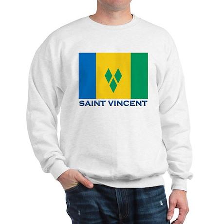 Flag of Saint Vincent Sweatshirt