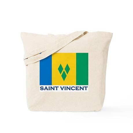 Flag of Saint Vincent Tote Bag