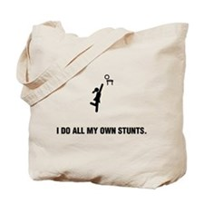 Netball Playing Tote Bag