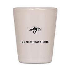 Motocrossing Shot Glass