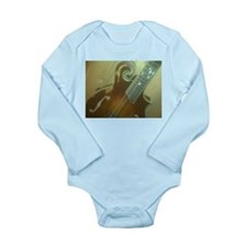 Custom Mandolins Long Sleeve Infant Bodysuit