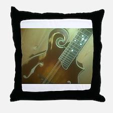 Custom Mandolins Throw Pillow