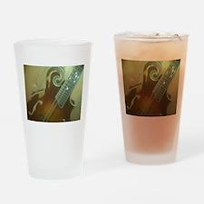 Custom Mandolins Drinking Glass