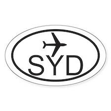 sydney airport.jpg Decal