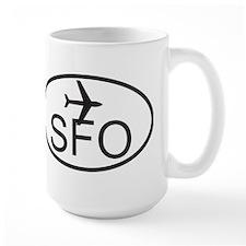 san fran airport.jpg Mug