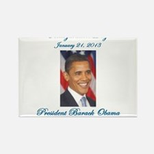 Inauguration Day Jan 21,2013 Rectangle Magnet