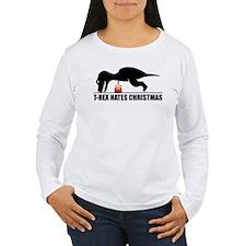Trex Christmas Humor T-Shirt