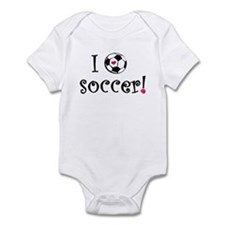 I Love Soccer Infant Creeper