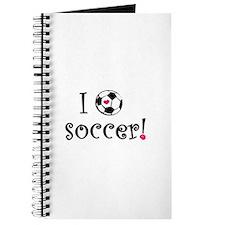 I Love Soccer Journal