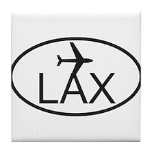 los angeles airport.jpg Tile Coaster