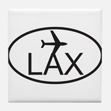 los angeles airport.jpg Tile Coaster
