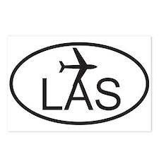las vegas airport.jpg Postcards (Package of 8)
