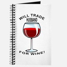 Wine For Husband Journal