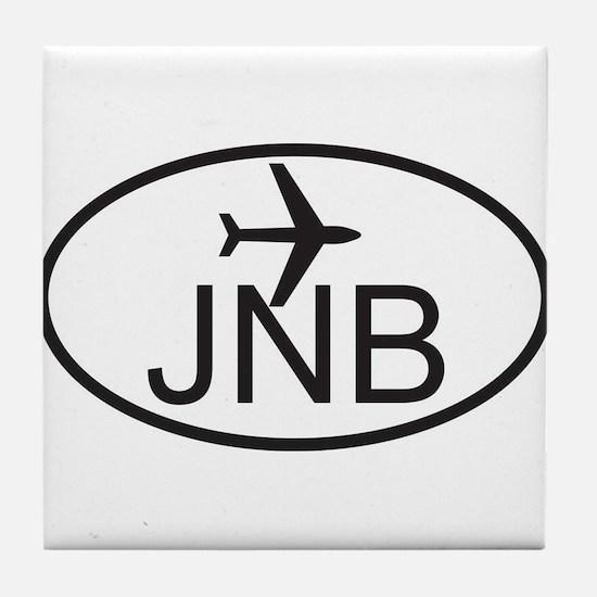 johannesburg airport.jpg Tile Coaster