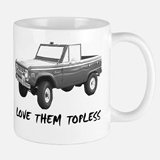 Love Them Topless Half Mugs