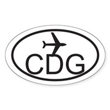 degaulle airport.jpg Decal