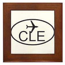 cleveland airport.jpg Framed Tile