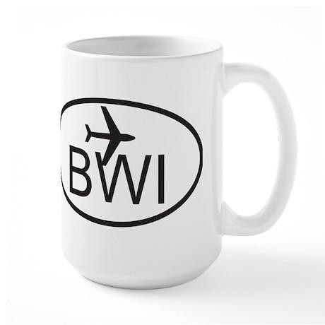 baltimore airport.jpg Large Mug