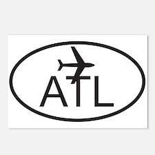 atlanta airport.jpg Postcards (Package of 8)