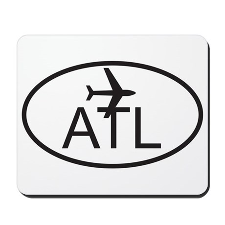 atlanta airport.jpg Mousepad