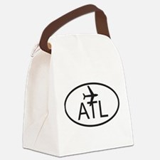 atlanta airport.jpg Canvas Lunch Bag