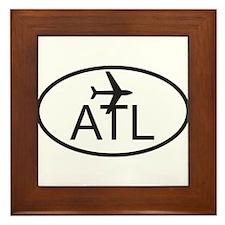 atlanta airport.jpg Framed Tile