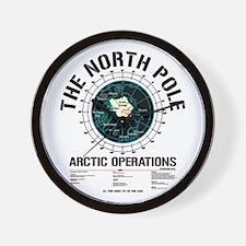 The North Pole Wall Clock