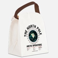 The North Pole Canvas Lunch Bag