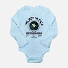 The North Pole Long Sleeve Infant Bodysuit