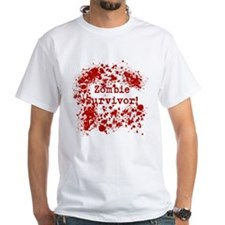 Zombie Survivor Mens T-Shirt