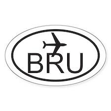 brussels airport.jpg Decal