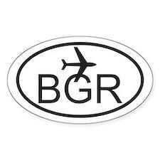bangor maine airport.jpg Decal