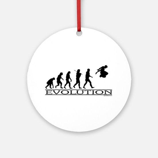 Evolution Parkour Ornament (Round)