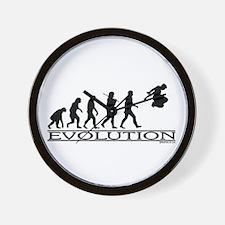 Evolution Parkour Wall Clock