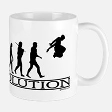 Evolution Parkour Mug