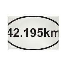 42195 km marathon.jpg Rectangle Magnet