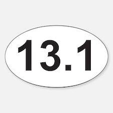 131 half marathon.jpg Decal