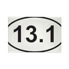 131 half marathon.jpg Rectangle Magnet