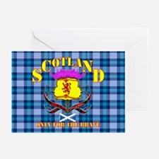 Scotland the brave lion Greeting Cards (Pk of 10)