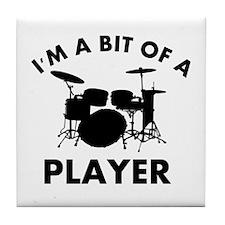 Cool Drums designs Tile Coaster
