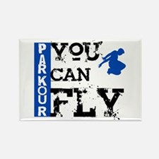 Parkour - You Can Fly Rectangle Magnet