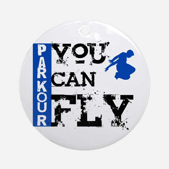 Parkour - You Can Fly Ornament (Round)