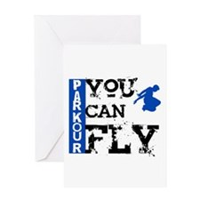 Parkour - You Can Fly Greeting Card