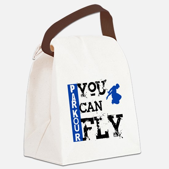 Parkour - You Can Fly Canvas Lunch Bag