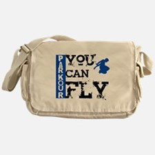 Parkour - You Can Fly Messenger Bag