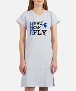 Parkour - You Can Fly Women's Nightshirt