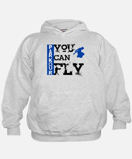 Parkour - You Can Fly Hoodie